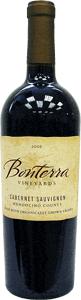 Bonterra Cabernet Sauvignon 2006, Mendocino County Bottle