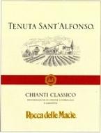 Rocca Della Macie Tenuta Sant'alfonso Chianti Classico 2004, Dogc Bottle