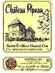 Chateau Pipeau, St. Emillion 2005 Bottle