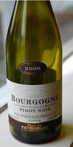 Patriarche Père Et Fils Bourgogne Pinot Noir 2006 Bottle
