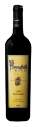 Pennyfield Wines Basket Pressed Petit Verdot 200 2005, Riverland, South Australia Bottle