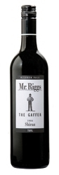 Mr. Riggs The Gaffer Shiraz 2006, Mclaren Vale, South Australia (Galvanized Wine Group) Bottle
