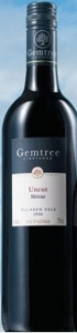 Gemtree Uncut Shiraz 2006, Mclaren Vale, South Australia Bottle