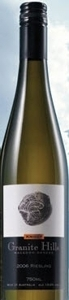 Granite Hills Riesling 2006, Macedon Ranges,Victoria Bottle