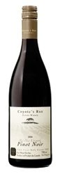 Coyote's Run Red Paw Vineyard Pinot Noir 2006, VQA Four Mile Creek, Niagara Peninsula Bottle