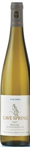 Cave Spring Estate Riesling 2006, VQA Beamsville Bench, Niagara Peninsula Bottle