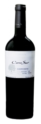 Cono Sur Visiîn Carmenere 2007, Rapel Valley Bottle