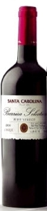 Santa Carolina Barrica Selection Petit Verdot 2006, Rapel Valley Bottle