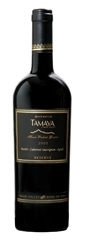 Tamaya Reserve Merlot/Cabernet Sauvignon/Syrah 2005, Limari Valley, Estate Btld., Hand Picked Grapes Bottle