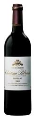 Château Pibran 2003, Ac Paulliac Bottle