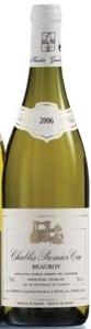 Alain Geoffroy Beauroy Chablis Premier Cru 2006 Bottle