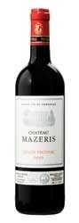 Château Mazeris 2005, Ac Canon Fronsac Bottle