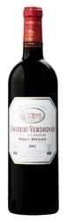 Château Verdignan 2001, Ac Haut Médoc Bottle