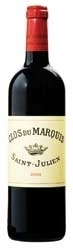 Clos Du Marquis 2004, Ac St Julien, 2nd Wine Of Château Léoville Las Cases Bottle
