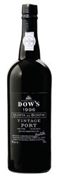 Dow's Quinta Do Bomfim Vintage Port 1996, Btld. In 2008 (Symington Family Estates) Bottle