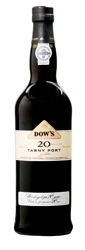 Dow's 20 Year Old Aged Tawny Port, (Symington Family Estates) Bottle