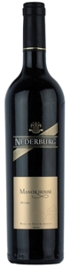 Nederburg Manor House Shiraz 2006, Wo Coastal Region Bottle