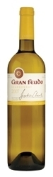 Julian Chivite Gran Feudo Chardonnay 2007, Do Navarra Bottle