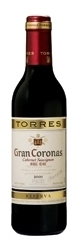 Torres Gran Coronas Reserva Cabernet Sauvignon 2003, Do PenedS (375ml) Bottle