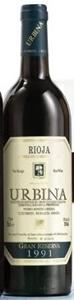 Urbina Gran Reserva Especial 1991, Doc Rioja Bottle