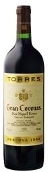 Torres Gran Coronas Cabernet Sauvignon Reserva 2004, Do Penedès Bottle
