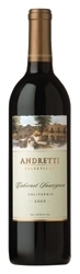 Andretti Selections Cabernet Sauvignon 2005, California Bottle
