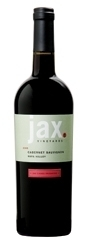 Jax Vineyards Cabernet Sauvignon 2005, Napa Valley Bottle