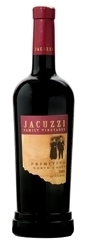 Jacuzzi Primitivo 2005, North Coast Bottle