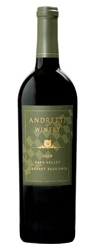 Andretti Cabernet Sauvignon 2005, Napa Valley Bottle