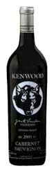 Kenwood Jack London Vineyard Cabernet Sauvignon 2005, Sonoma Valley Bottle