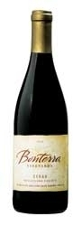 Bonterra Syrah 2005, Mendocino County, Made With Organically Grown Grapes Bottle