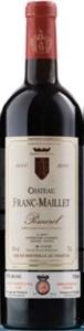 Château Franc Maillet 2000, Ac Pomerol, G. Arpin, Propriétaire Bottle
