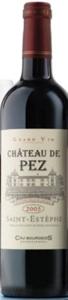 Château De Pez 2005, Ac St Estèphe Bottle