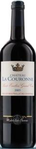Château La Couronne 2005, Ac St émilion Grand Cru, Mähler Besse Bottle