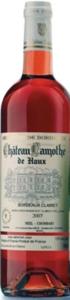 Château Lamothe De Haux Rosé 2007, Ac Bordeaux Clairet, Néel Chombart Bottle