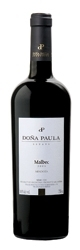 Doña Paula Estate Malbec 2006, Mendoza Bottle