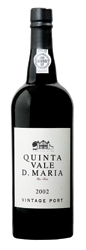 Quinta Vale D. Maria Vintage Port 2002 Bottle