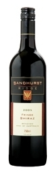 "Sandhurst Ridge Fringe Shiraz 2005, ""Bendigo, Victoria"" Bottle"