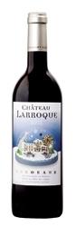 Château Larroque Winter Label 2005, Ac Bordeaux Bottle