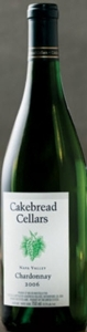 Cakebread Cellars Chardonnay 2006, Napa Valley Bottle