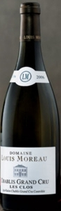 Domaine Louis Moreau Chablis Grand Cru Les Clos 2006, Ac, Grand Cru Bottle