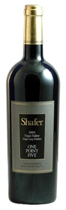 Shafer One Point Five Cabernet Sauvignon 2005, Stags Leap District, Napa Valley Bottle