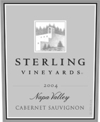 Sterling Reserve Cabernet Sauvignon   2004, Napa Valley Bottle