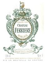 Château Ferriere 1995, Ac Margaux Bottle