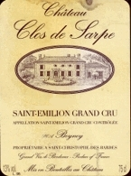 Château Clos De Sarpe 1998, Ac Saint émilion Grand Cru Bottle