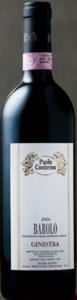 Paolo Conterno Barolo Ginestra 2004, Docg Bottle
