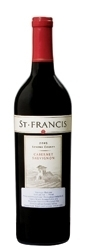 St. Francis Cabernet Sauvignon 2005, Sonoma County, Estate Btld. Bottle