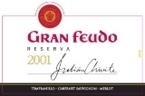 Chivite Gran Feudo Reserva 2001, Navarra, Spain Bottle