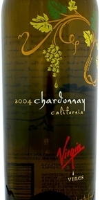 Virgin Vines Chardonnay 2005, California Bottle