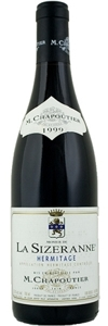 Chapoutier Hermitage Monier 2004, Rhône Valley Bottle